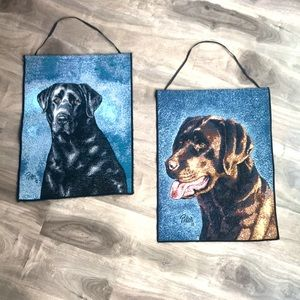 🔥4 for $25🔥 PICKEN wall hanging dog decor set